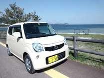 レンタカー併設だから、HOTEL&RENTACAR660♪【レンタカー660】12時間→¥3,780  24時間→¥4,320