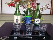 【会津郷土料理+利き酒】温泉の後は美味しい郷土料理と地酒でほろ酔い♪/2食付
