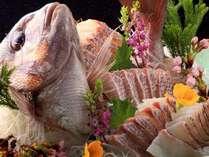 大切な記念日は個室食事処[乃の風茶寮]で~新鮮な鯛の祝い盛りで華やかに(4名まで)