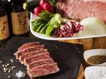 【夕食ブッフェ】湖を一望するレストランで洞爺が誇る和牛をご堪能ください。