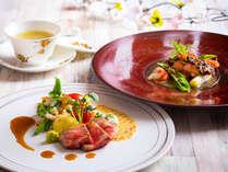 【 フレンチ・2019年春】メイン料理も季節のアレンジで。(変更の場合あり)