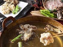 【ブッフェ・2020年冬】旬の食材をてんぷらで。揚げたてをお召し上がりください。