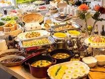 北海道 十勝を味わえる朝食バイキング♪朝6:30~9:30 十勝帯広名物 豚丼もご用意しております☆