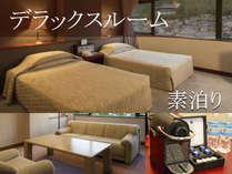 ワンランク上のリラックス空間◆アメニティも充実!デラックスルーム確約◆素泊まりプラン