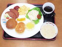 *朝食一例(洋食)/偶数日には洋食をご提供いたします。
