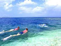 *【シュノーケリングイメージ】青い海を満喫♪