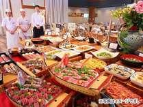 夕食バイキング(イメージ)お料理内容は時期により異なります。