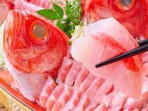 2021秋フェア 金目鯛と地魚の舟盛