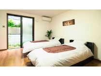 Room A ベッドルーム