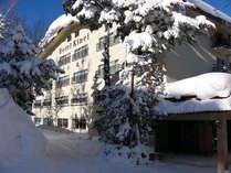 ウィンターシーズンのホテル金栄