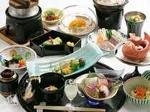 旬の食材を使用しました会席料理です。