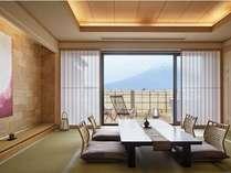 /富士山を望む温泉露天風呂付客室和室12.5畳【707】号室
