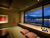 【たまゆら】窓からの夜景(一例)