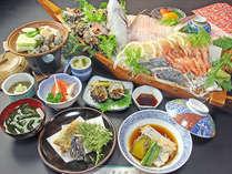 舟盛り付き会席で、満足度UP☆日本海・旬の海幸を知りたい方必見!人気舟盛りプラン(*°ー°)v