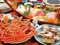 日本海の冬の味覚といえばカニ!!カニ満喫☆フルコース