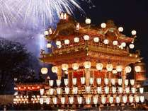 【12/2・3 開催♪】日本三大曳山祭の一つ【 秩父夜祭 】300年の歴史を誇る 秩父神社の例大祭を観覧。朝食付