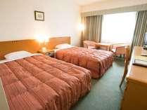 ツインルーム(22平米)120cm幅ベッド。