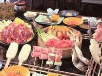 【蒸篭蒸し囲炉裏料理】一例/囲炉裏料理・せいろ蒸しなどバラエティに富んだ味覚をどうぞ
