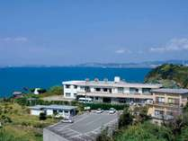 【外観】日本のアマルフィとも言われる雑賀崎にある旅館