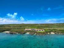【外観/全景】全敷地8.300平方メートルという広大な楽園『紺碧』は8棟だけの至極ヴィラリゾートです。