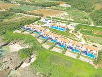**【外観/全景】全敷地8.300平方メートルという広大な楽園『紺碧』は8棟だけの至極ヴィラリゾート