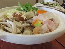 【ご当地グルメ】夕食:味噌仕立てあんこう鍋&海の幸 朝食:和洋バイキング