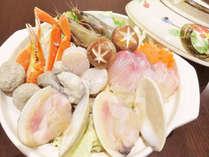【じゃらん限定・ご当地グルメ】夕食:漁師町自慢の海鮮寄せ鍋&海の幸 朝食:和洋バイキング
