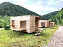 【住箱(jyubako)】Snowpeak×隈 研吾のトレーラーハウス『住箱』。満天の星空と自然に包まれる贅沢体験を