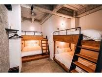 01_デラックスアパートメント/ベッドスペース_8名様まで宿泊可能