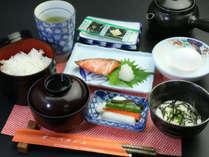 【朝食一例】素朴な日本の朝ごはんを召し上がれ♪