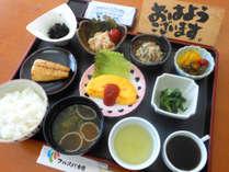 【朝食付】最終チェックイン22時!バランスの良い和定食で朝から元気!