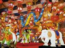 長崎ランタンフェスティバル実行委員会様提供画像(色とりどりのオブジェ)