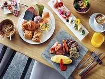 【インスタ映え朝食】ホテル自慢の色とりどりのビュッフェをお召し上がりください。