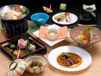 池田屋梅コース料理一例です。