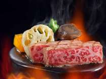 里見伏姫牛の鉄皿焼き