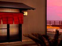 【玄関】お宿ひるたは5室だけのこじんまりした小さなお宿です。