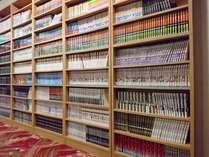 マンガ本は新作から懐かしいシリーズまで約2000冊♪