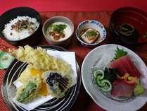 海鮮処アルプス食堂名物『アルプス御膳』本格料理人が心を込めてご提供いたします