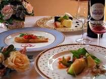 心にも身体にも優しいお料理にはワインも似合います