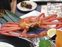 【山陰大周遊★紅ガニ】 境港で水揚げされた鮮度のよい蟹を贅沢に!朝夕部屋食「紅ずわいがにづくし会席」