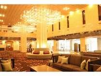 お客様をお迎えするロビーはゆったり広々・高級感たっぷり♪富山一の老舗シティホテル(~_~)
