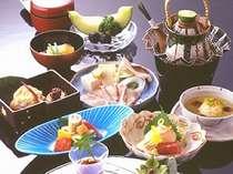 錦秋の会席料理
