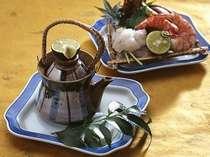 秋の一品「松茸の土瓶蒸し」