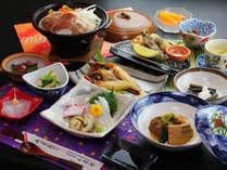 ◆【スタンダード一例】人気No.1実はうまい!新鮮海の幸と地元の味噌屋さんの味噌麹漬け豚の陶板焼き