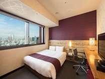 【ヒーリング 19㎡】クイーンサイズ(幅 160cm)の低反発素材を使用したベッドと枕が人気