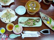 【夕食のみ】朝食はいらない&夕食は地魚会席で満腹♪