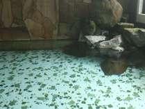 レトロなタイル貼りのお風呂