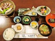 【2食付き】当館おすすめ☆季節の地元食材を使った創作料理をリーズナブルに楽しめる。