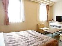 ◆ダブルルーム◆22平米のゆったりとした空間でお寛ぎ頂けます。