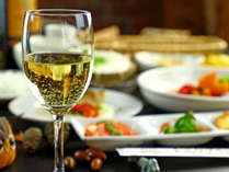 Dinner-おいしいワインもあります